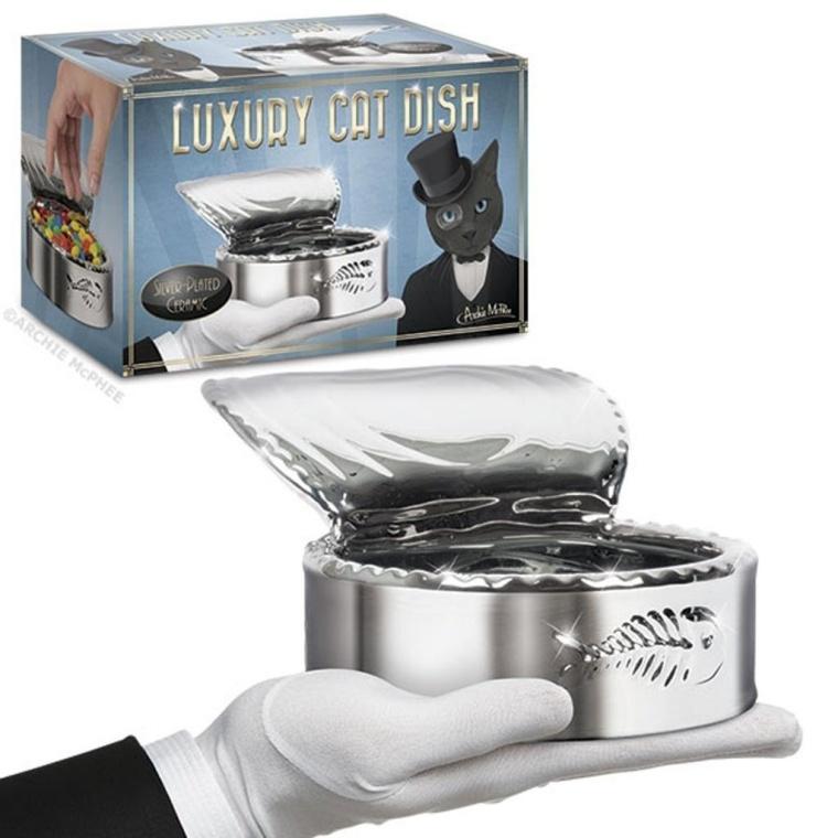 Luxury Cat Dish