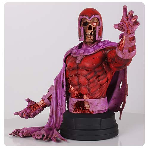 Men Zombie Magneto Marvel Villains Mini-Bust