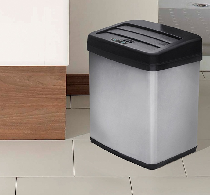 Motion Activated Anti-Fingerprint Trash Cans