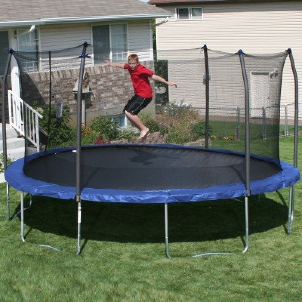 Trampoline Springs Walmart: Oval Trampoline With Spring Pad