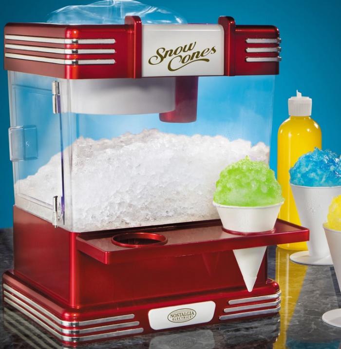 The Countertop Snow Cone Machine