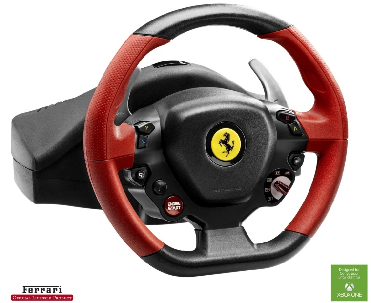 Thrustmaster VG Ferrari 458 Spider Racing Wheel