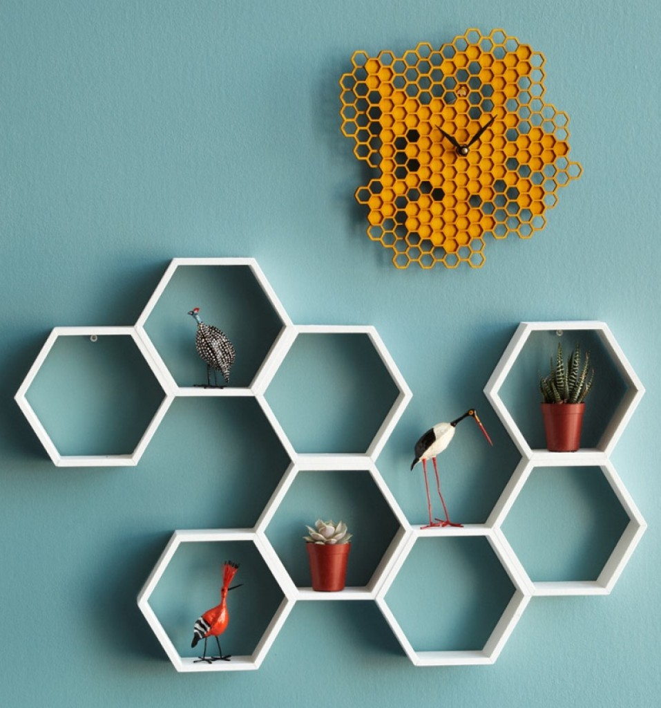 Honeycomb Shelf Gadgets Matrix