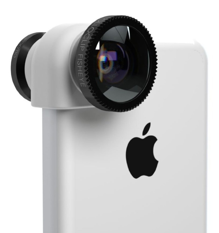 iPhone 5c 3-IN-1 lens system