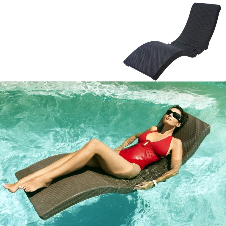 All-Weather Wicker Weave Sun Lounger