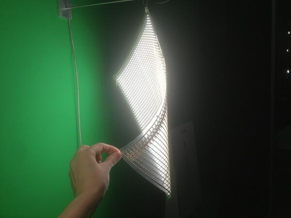 An LED Lamp Translucent Paper