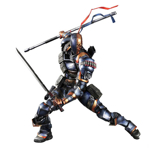 Batman Arkham Origins Deathstroke Play Arts Kai Action Figure