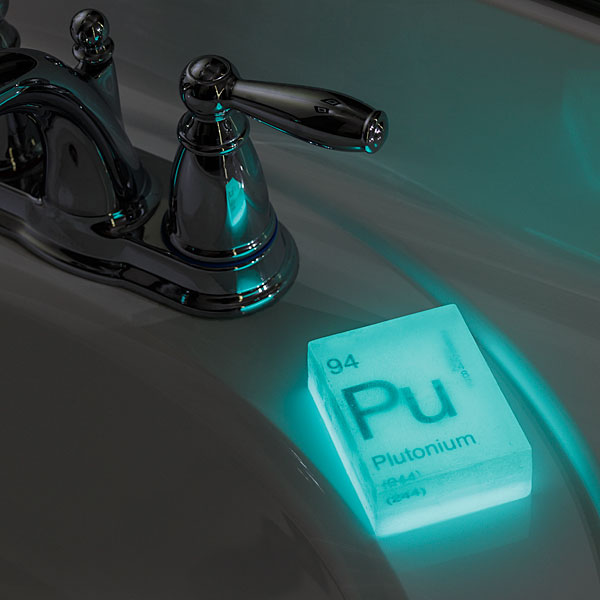 Glow-in-the-Dark nuclear soaps