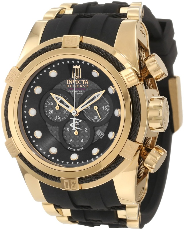 Invicta Jason Taylor Bolt Polyurethane Watch