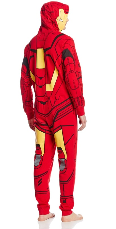 Iron Man Mens All Jumpsuit