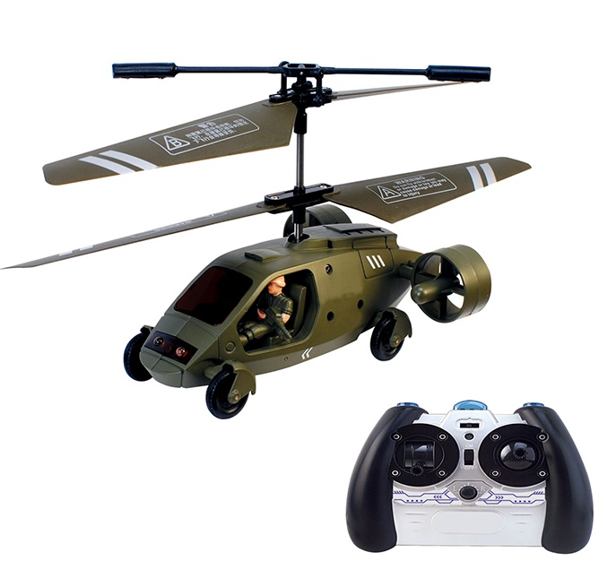 Land and Air RC Chopper