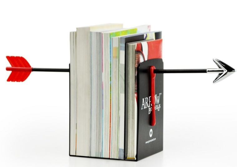 Arrow Magnetic Novelty Bookends