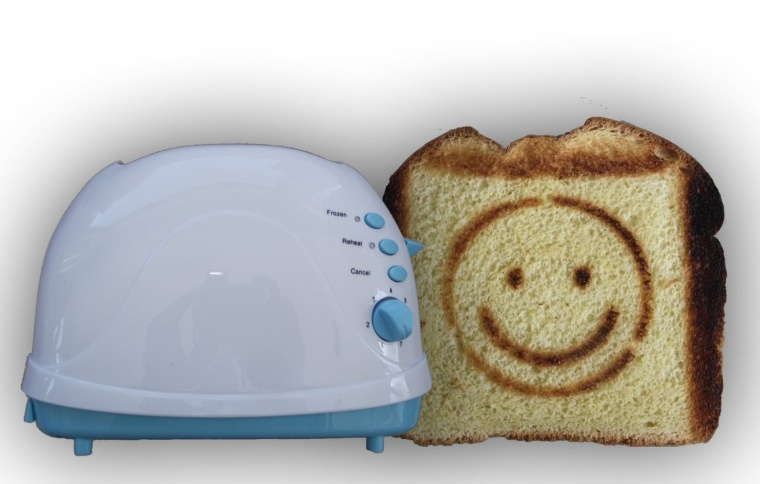 Smiley Face Toaster