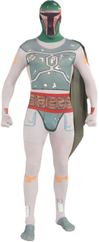 Star Wars Boba Fett 2nd Skin Suit Costume
