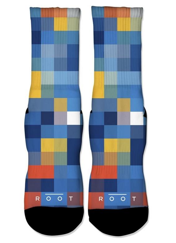 8 Bit Fan Graphic Socks