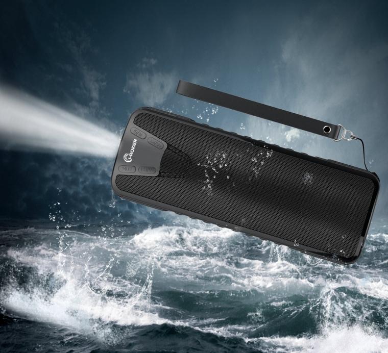 Bluetooth V4.0 Wireless Stereo Waterproof Outdoor Shower Speaker