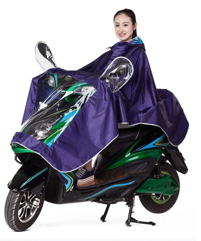 Motorcycle Waterproof Rain Coat Women Men Raincoat Scooter Cape Poncho