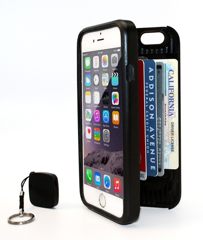 New Wallet for iPhone 6 (Black)