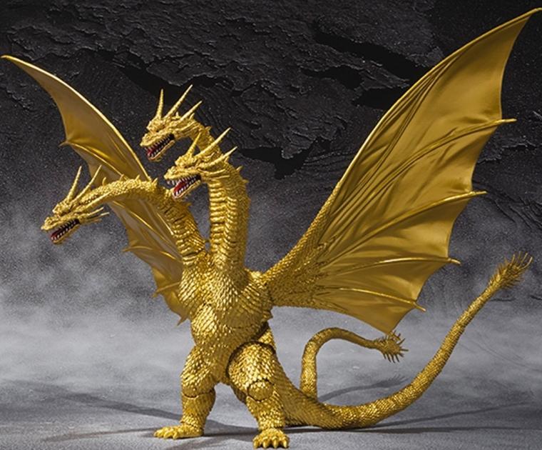 Premium Bandai S.H MonsterArts King Ghidorah Special Color Ver. Action Figure