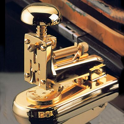 Stapler 23 Karat Gold Plated