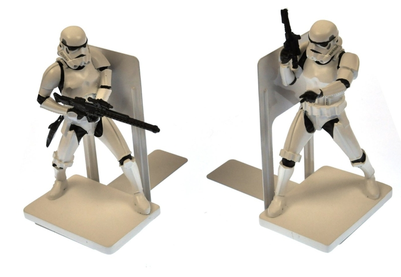 Star Wars Storm Trooper Book Ends