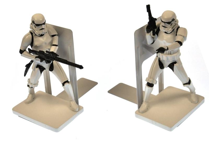 Star Wars Storm Trooper Book Ends
