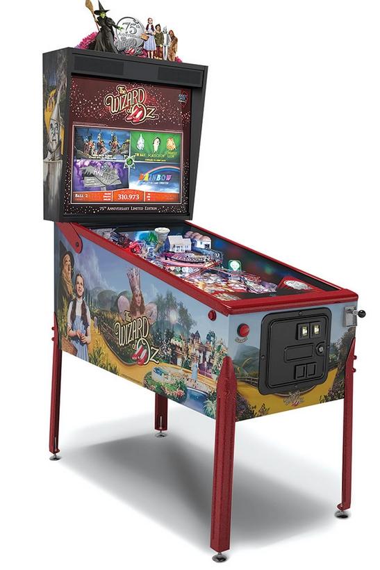 The Wizard of Oz Pinball Machine