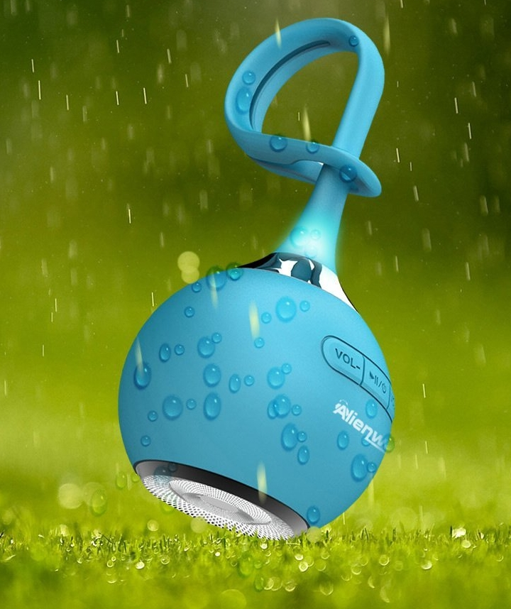 Ultra Portable Waterproof Bluetooth Wireless Speaker