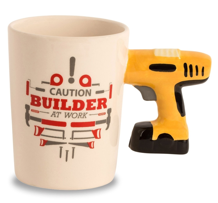 Decodyne Builder at Work Series Coffee Mug