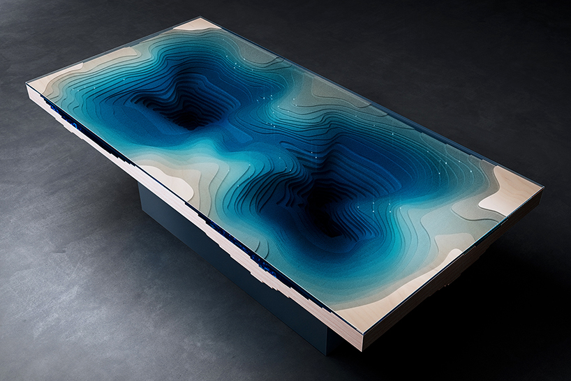 the ocean abyss dining table