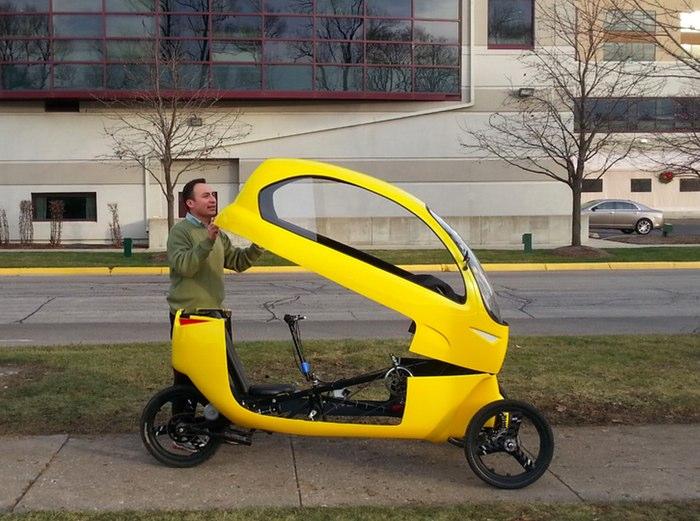 The Ego velomobile