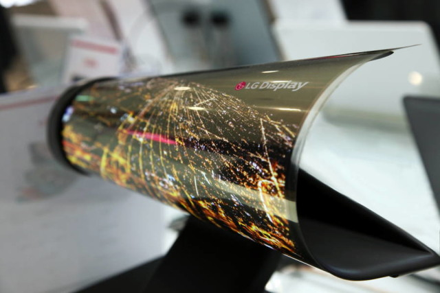 LG New Displays At CES 2016