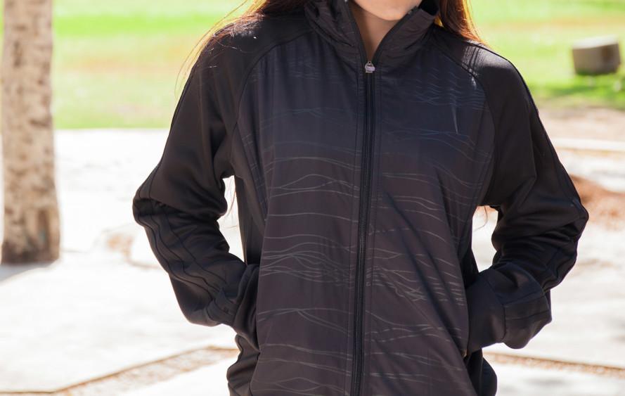 solar-powered, self-warming clothing