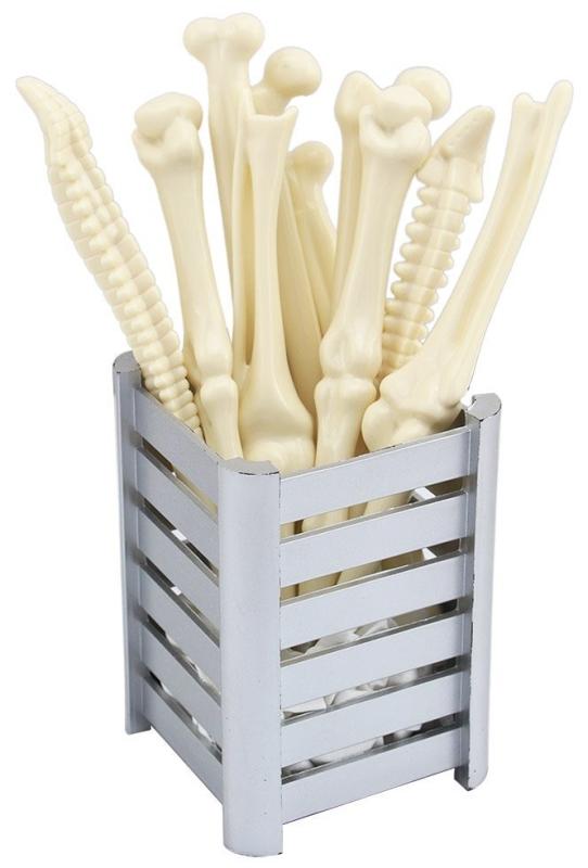 Bone Shape Ballpoint Pens