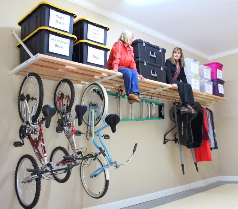 DIY Rhino Shelf Garage Shelves