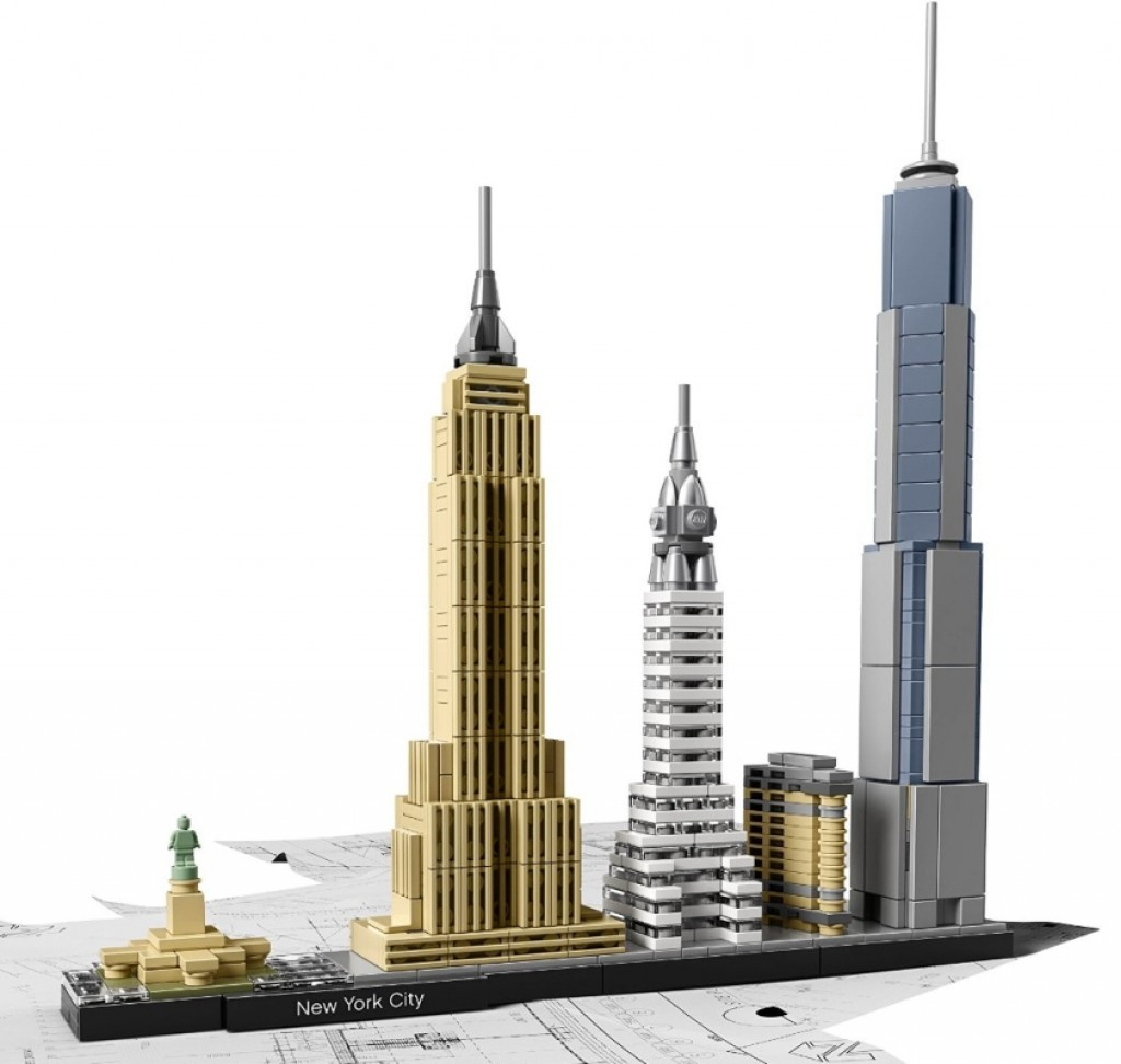 lego architecture new york city gadgets matrix. Black Bedroom Furniture Sets. Home Design Ideas