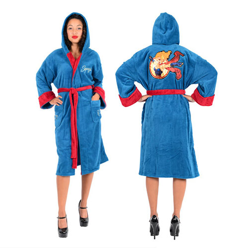 Supergirl Fleece Bath Robe