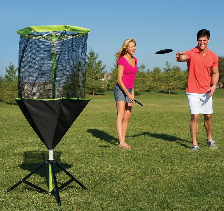 The Portable Disc Golf Set