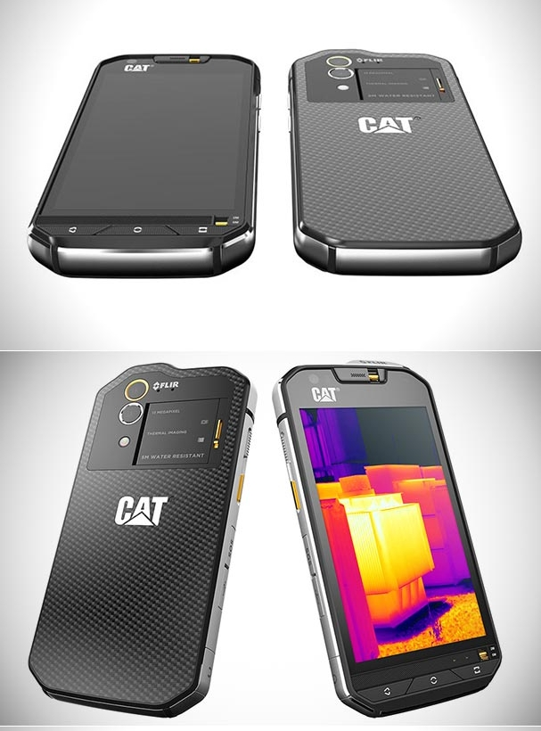 CAT S60 Smartphone with a Built-in Thermal Imaging Camera