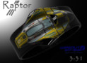 Raptor LED watch