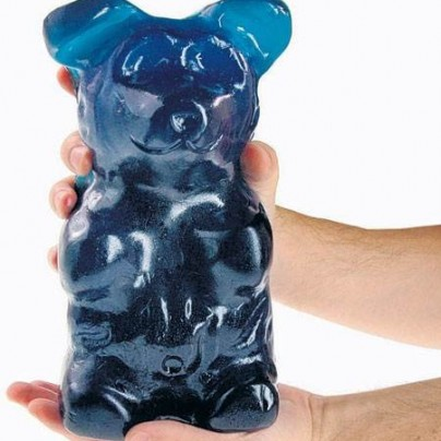World's Largest Gummi Bear – Blue Raspberry