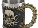 Gothic Tribal Skull Tankard Coffee Mug