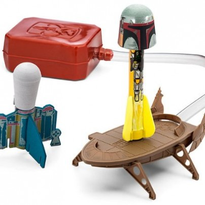 Star Wars Science Boba Fett Launch Lab