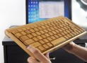 Handcrafted Wireless Bamboo Keyboard