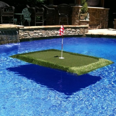 Pro Tour Floating Golf Green for Pool or Lake