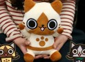 Monster Hunter Airou Dancing Plush Speakers