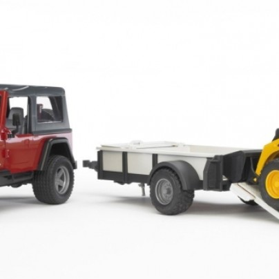 Jeep Wrangler with Tow Trailer