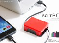 BoltBox Retractable Charger for iPhone 5/5s/5c