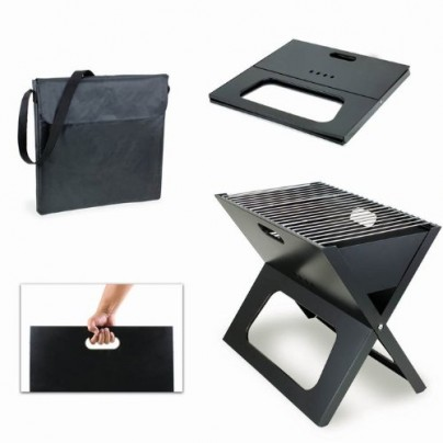 X-Grill Ultra-Portable Charcoal Grill and Carrying Tote