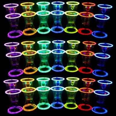 48 Glow Stick Party Cups